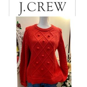 J.Crew Cable knit tunic